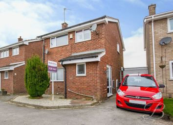 Thumbnail 3 bed link-detached house for sale in Snaefell Avenue, Forest Town, Mansfield