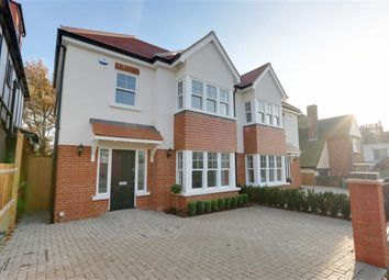 Thumbnail 5 bedroom semi-detached house for sale in Somerville Gardens, Leigh On Sea, Essex