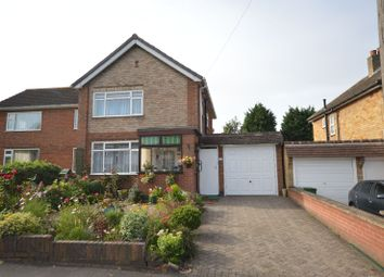 Thumbnail 3 bedroom link-detached house for sale in Uplands Road, Oadby, Leicester