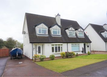Thumbnail 3 bed semi-detached house for sale in Laral Gardens, Newtownabbey
