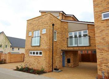 Thumbnail 3 bed semi-detached house to rent in Agrippa Crescent Fairfields Milton Keynes, Milton Keynes