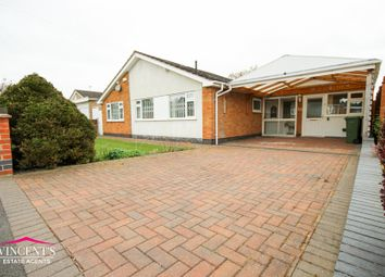 Thumbnail 3 bed detached bungalow for sale in Highland Avenue, Kirby Muxloe, Leicester, Leicestershire