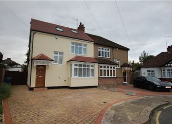 Thumbnail 4 bedroom semi-detached house for sale in Strathmore Gardens, Edgware, Middlesex