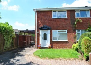 Thumbnail 2 bed property to rent in Coppermill Close, Hednesford, Cannock
