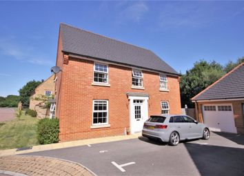Thumbnail 4 bed detached house for sale in Danube Drive, Swanwick, Southampton