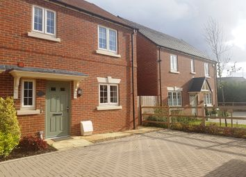 Thumbnail 3 bed semi-detached house for sale in Mundays Meadow, Hanslope, Milton Keynes
