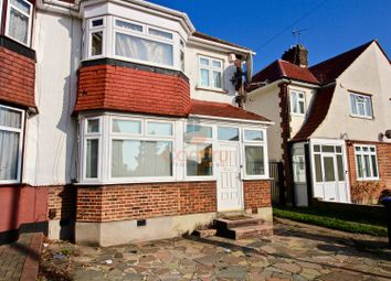 Thumbnail 3 bed semi-detached house to rent in Grasmere Avenue, Wembley, Middlesex