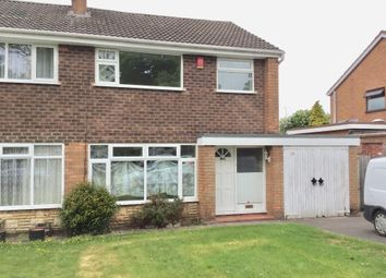 Thumbnail 3 bed semi-detached house to rent in Argyle Road, Walsall