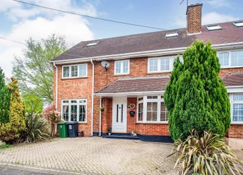 Thumbnail 5 bed semi-detached house for sale in Hill Farm Close, Leavesden, Watford
