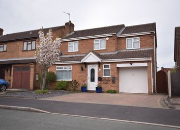 Thumbnail 4 bed detached house to rent in Crest Close, Stretton, Burton-On-Trent