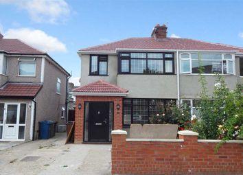 Thumbnail 4 bedroom semi-detached house to rent in De Havilland Road, Edgware