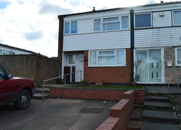Thumbnail 3 bed end terrace house for sale in Alamein Road, Willenhall