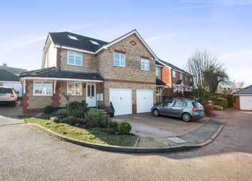 Thumbnail 4 bed semi-detached house for sale in Otterton Close, Harpenden