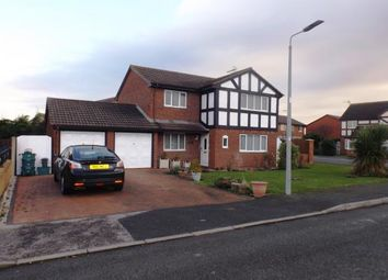 Thumbnail 4 bed detached house for sale in Llys Y Castell, Kinmel Bay, Rhyl, Conwy