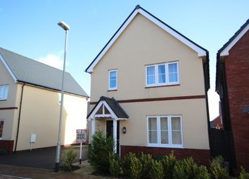 Thumbnail 3 bed detached house for sale in Hollyhock Close, Bridgwater