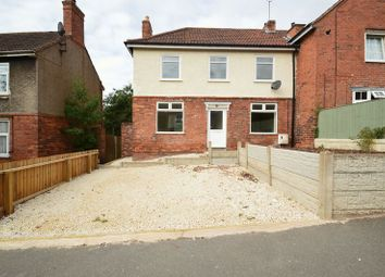 Thumbnail 3 bed semi-detached house for sale in Sherwood Avenue, Blidworth, Mansfield