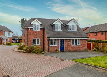 Thumbnail 3 bed detached house for sale in Green Croft, Yarnfield, Stone