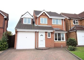 Thumbnail 4 bed detached house for sale in Greenford Close, Nuthall, Nottingham