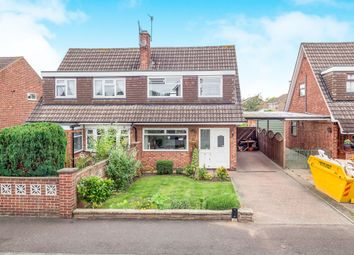 Thumbnail 3 bed semi-detached house for sale in Armstrong Road, Nottingham