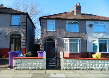 Thumbnail 3 bed semi-detached house for sale in Daffodil Road, Wavertree, Liverpool