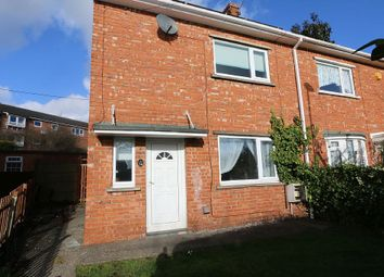 Thumbnail 2 bed semi-detached house for sale in Waverley Avenue, Bedlington, Northumberland