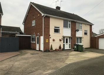 Thumbnail 3 bed semi-detached house for sale in Cherry Road, Blaby, Leicester