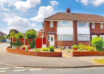 Thumbnail 3 bedroom end terrace house for sale in Cherry Tree Avenue, Walsall, West Midlands