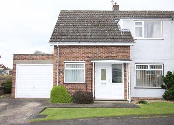 Thumbnail 2 bed semi-detached house for sale in Gordon Field, Market Rasen