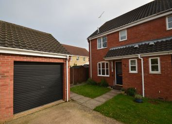 Thumbnail 3 bed semi-detached house for sale in Hyde Court, Thorpe St. Andrew, Norwich