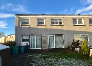 Thumbnail 3 bed end terrace house for sale in Marmion Road, Cumbernauld, Glasgow