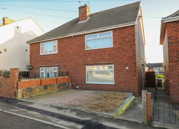 Thumbnail 3 bed semi-detached house for sale in South Street North, New Whittington, Chesterfield