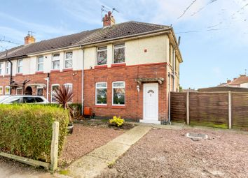 Thumbnail 3 bed end terrace house for sale in Crichton Avenue, York