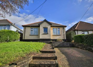 Thumbnail 4 bed detached bungalow for sale in Wentloog Road, Rumney, Cardiff