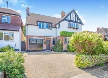 Thumbnail 5 bed detached house for sale in Parkside Drive, Cassiobury, Watford, Hertfordshire, .