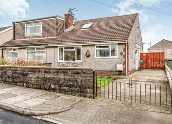 Thumbnail 2 bed semi-detached bungalow for sale in Heol Undeb, Beddau, Pontypridd