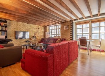 Thumbnail 1 bed flat to rent in Wapping Wall, London