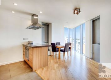 Thumbnail 1 bed flat to rent in Vertex Tower, 3 Harmony Place, London