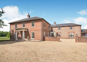 Thumbnail 7 bed detached house for sale in Chute Forest, Andover