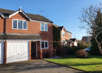 Thumbnail 3 bed semi-detached house for sale in Launceston Place, Warndon, Worcester