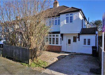 Thumbnail 3 bed semi-detached house for sale in Inwood Avenue, Coulsdon