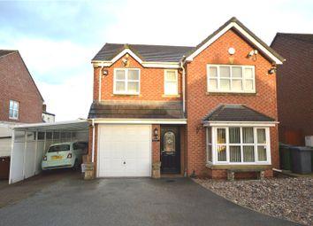 Thumbnail 4 bed detached house for sale in Moorside Crescent, Drighlington, Bradford