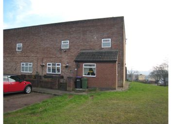 Thumbnail 4 bed end terrace house for sale in Wool Pitch, Cwmbran