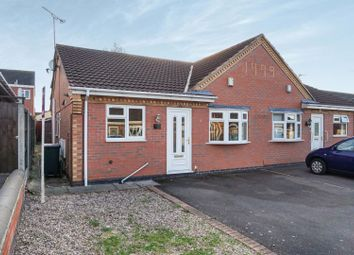Thumbnail 2 bed semi-detached bungalow for sale in Griffin Close, Leicester