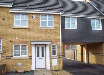 Thumbnail 3 bed town house to rent in Windsor Road, Rushden