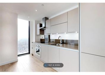 Thumbnail 2 bed flat to rent in Stratosphere Tower, London