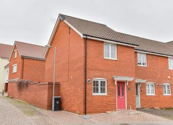 Thumbnail 2 bed end terrace house for sale in Ranulf Road, Flitch Green, Dunmow