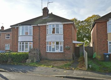 Thumbnail 2 bed semi-detached house for sale in Pytchley Road, Southfields, Rugby, Warwickshire