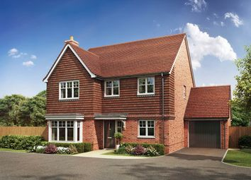 Thumbnail 4 bed detached house for sale in Hyde End Road, Spencers Wood, Reading