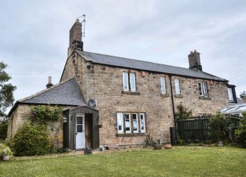 Thumbnail 2 bed cottage for sale in Longhoughton Road, Lesbury, Alnwick