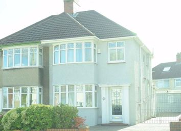 3 bed semi-detached house for sale in Harlech Crescent, Sketty, Swansea SA2